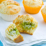 Broccoli muffin Royalty Free Stock Photography