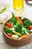 Broccoli,Pea and Barley salad Royalty Free Stock Image