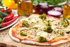 Broccoli Pizza Royalty Free Stock Photo