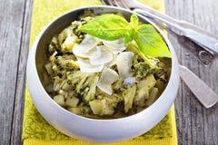 Broccoli potato stew Royalty Free Stock Photos