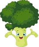 Broccoli Presenting Something Royalty Free Stock Photo