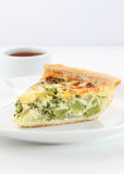Broccoli quiche Stock Photography