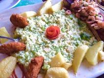 Broccoli risotto Stock Image