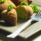 Broccoli rissoles Royalty Free Stock Images