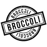 Broccoli rubber stamp Royalty Free Stock Images