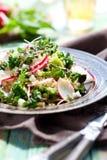 Broccoli salad royalty free stock images