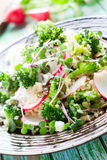 Broccoli salad Stock Photo