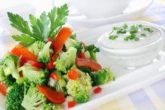 Broccoli salad Royalty Free Stock Image