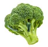Broccoli som isoleras på vit utan skugga fotografering för bildbyråer