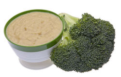 Broccoli Soup Royalty Free Stock Photography