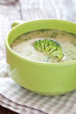 Broccoli soup Stock Image