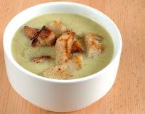 Broccoli soup Stock Image
