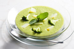 Broccoli soup Royalty Free Stock Photos