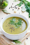 Broccoli soup Royalty Free Stock Photo