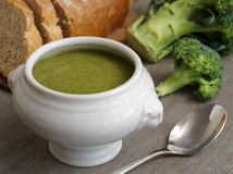 Broccoli soup royalty free stock photos