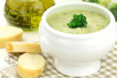 Broccoli soup Royalty Free Stock Images