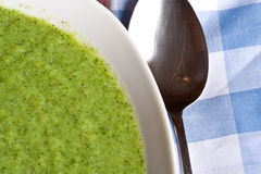Broccoli soup Stock Images