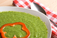 Broccoli soup Stock Photo