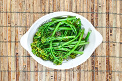 Broccoli stems Stock Photos