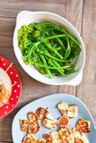 Broccoli stems Stock Photography