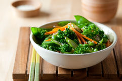 Broccoli Stir Fry Royalty Free Stock Photography
