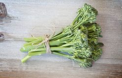Broccoli and string Royalty Free Stock Photography
