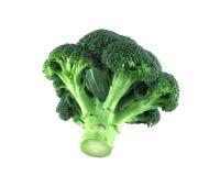 Broccoli sur le blanc photographie stock
