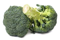 Broccoli on the table Stock Images