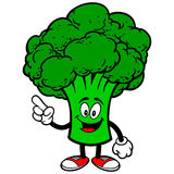 Broccoli Talking Royalty Free Stock Photos