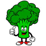 Broccoli with Thumbs Up Stock Image