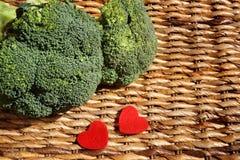 Organic Broccoli Stock Photo
