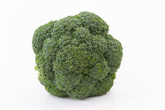 Broccoli vegetable in detail isolated Royalty Free Stock Image