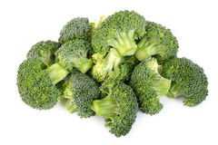 Broccoli vegetable isolated Royalty Free Stock Images