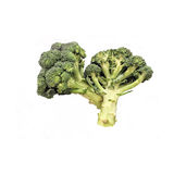 Broccoli. Vegetable on white background Stock Images