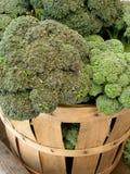 Broccoli voor verkoop Royalty-vrije Stock Afbeeldingen