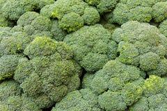 Broccoli wall. At Jerusalem Bazaar Stock Image