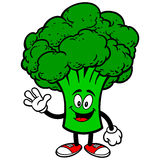 Broccoli Waving Stock Photography