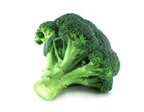 Broccoli on white. Fresh broccoli isolated on white background Stock Photo