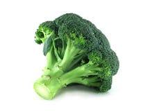 Broccoli on white Stock Photo