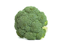 Broccoli on the white background Stock Photography