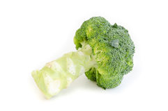 Broccoli on a white background Stock Photography