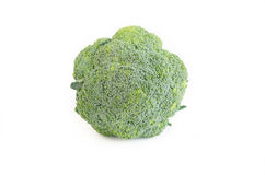 Broccoli on a white background Royalty Free Stock Photo