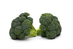 Broccoli on white background Stock Image
