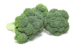 Broccoli in a white background. Pictured broccoli in a white background Royalty Free Stock Image
