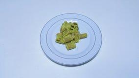 Broccoli. Whole wheat pasta and broccoli Stock Photography