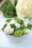 broccoliblomkål Arkivbild