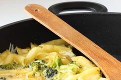Broccolideegwaren Royalty-vrije Stock Foto's