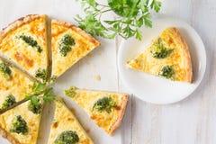 Broccolipaj Royaltyfri Fotografi
