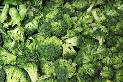 broccolisnitt royaltyfria bilder