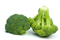 broccolistycken två Royaltyfri Fotografi